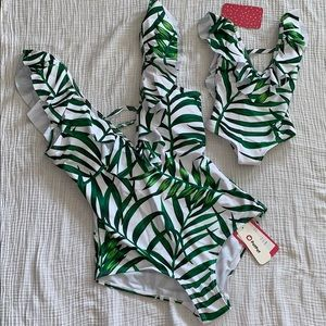 Other - Mommy & Me Matching Swimsuits | women | baby